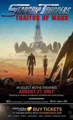 Starship Troopers Traitor Of Mars 2017